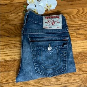 True Religion Men's Ricky Straight leg jeans 32x30